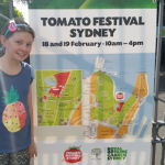2017 Susannah PSW member at Tomato Fest 2017