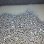 Gravel into Wicking Beds