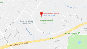 google map bidgiwong reserve