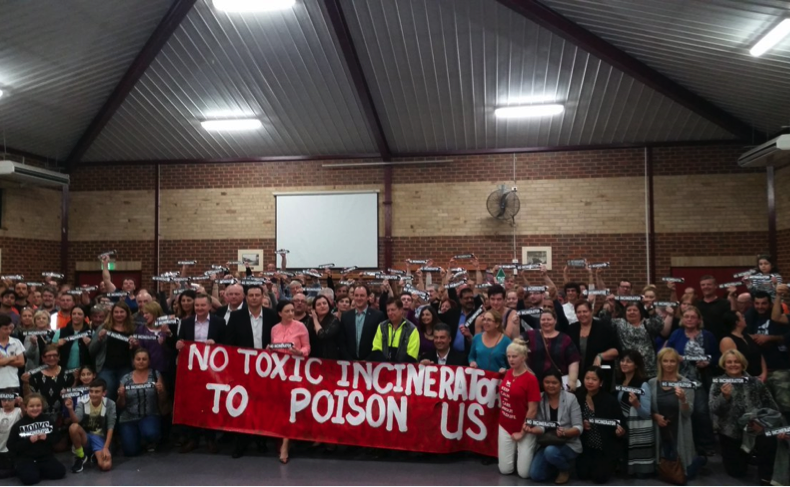 No- to the proposed Incinerator in sydney West region