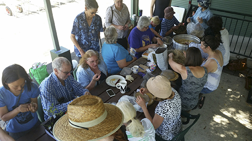 Group, 'saving seeds' October 28